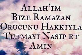 Ramazan Sözleri